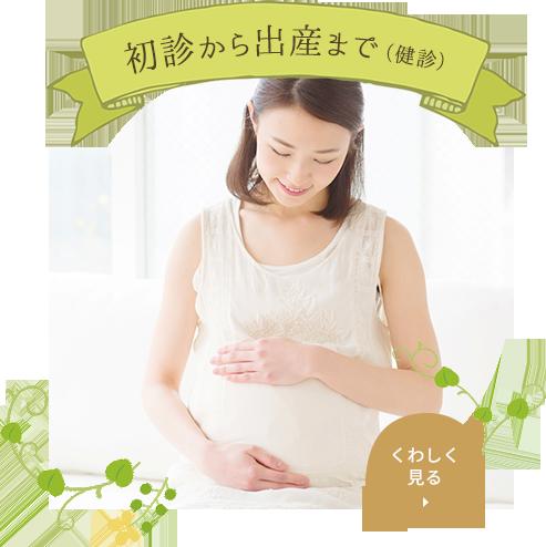初診から出産まで(健診)